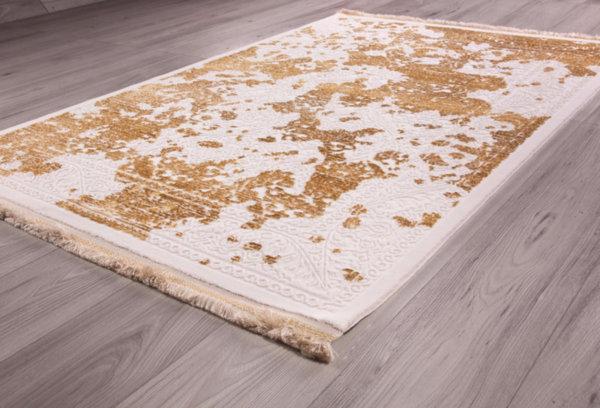 килим нюанс 1523 крем/злато